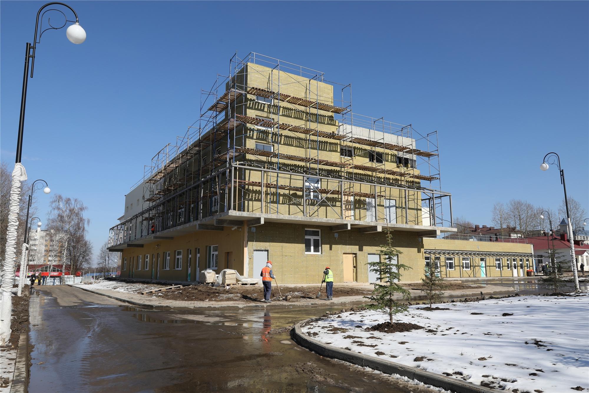 строительство ГДБ2