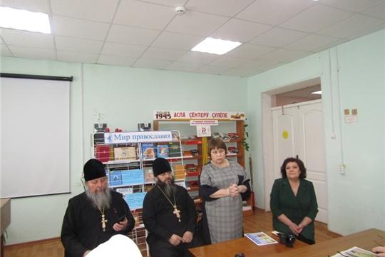 В рамках программы «Православная гостиная» прошла встреча с настоятелем храма