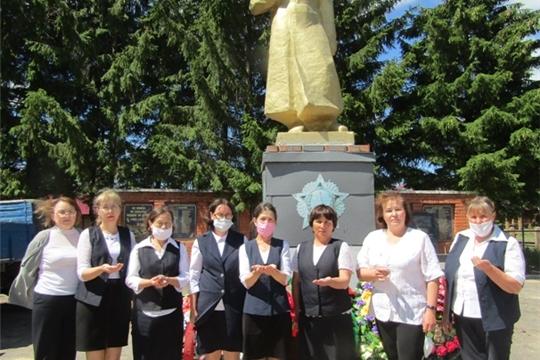 22 июня библиотекари Аликовского района отдали дань памяти погибшим в Великой Отечественной войне
