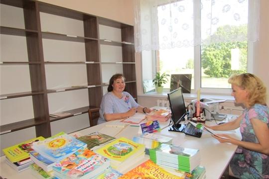 Укрепление материально-технической базы библиотек Аликовского района