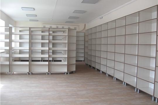 Аликовская центральная и детская библиотека - полностью преобразились!