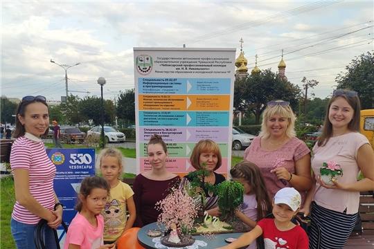 18 августа в Калининском районе отметили 550-летие города Чебоксары