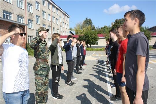 Студенты Чебоксарского профессионального колледжа им. Н.В. Никольского проходят военные сборы