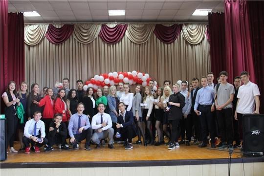 Посвящение в студенты в Чебоксарском профессиональном колледже им. Н.В. Никольского