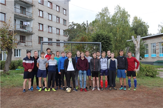 Турнир по мини-футболу среди студентов колледжа