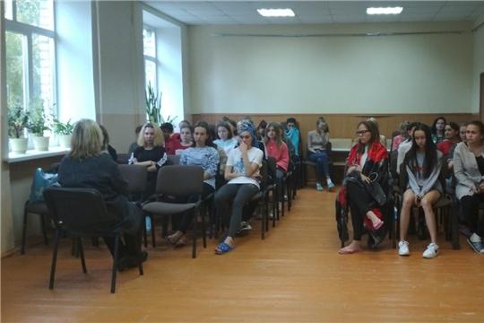 Профилактическая работа в общежитии Чебоксарского профессионального колледжа имени Н.В. Никольского