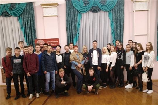 Студенты посетили Государственный ордена «Знак Почета» русский драматический театр