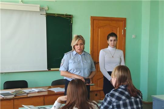 Акция «Месячник правовых знаний»  в Чебоксарском профессиональном колледже имени Н.В. Никольского