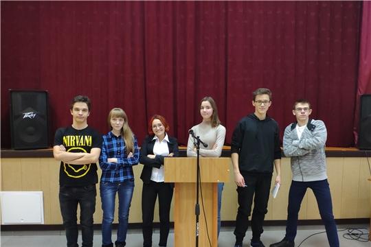 В Чебоксарском профессиональном колледже имени Н.В.Никольского  прошло совещание  Молодежного правительства  при администрации Калининского района города Чебоксары.