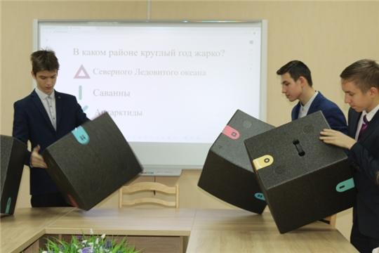 Столичные школьники стали участниками мастер-класса «Ученье в радость»