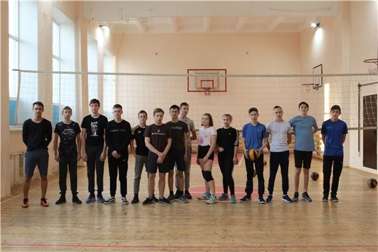 Турнир по волейболу среди юношей 1 курса