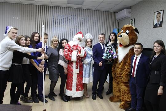 Чебоксарский профессиональный колледж имени Н.В. Никольского встречает Новый год