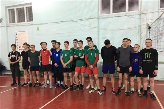 Студенты колледжа заняли призовое место в турнире по волейболу среди мужских команд