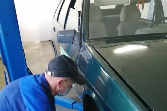 Завершилось обучение лиц предпенсионного возраста по компетенции  «Ремонт и обслуживание легковых автомобилей»