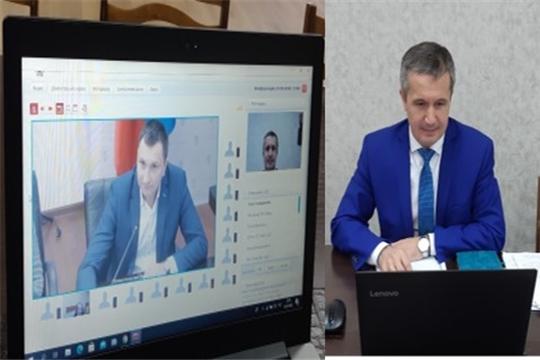 Олег Якимов принял участие в совещании с представителями Департамента государственной политики в сфере СПО и ПО