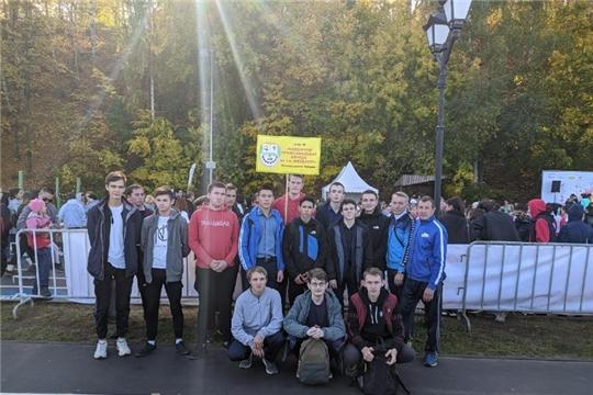 3 октября студенты колледжа присоединилась к большому спортивному празднику - Всероссийскому дню ходьбы, организованному Олимпийским комитетом России