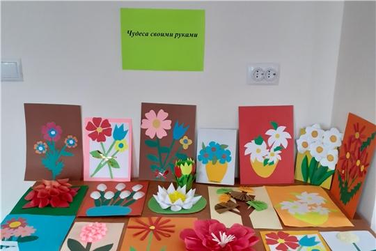 Выставка детского творчества «Чудеса своими руками» (Чурачикская с/б)