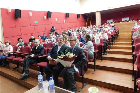 Встреча работников культуры и библиотек с писателями Чувашии