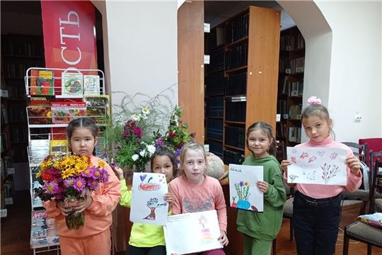 Мини-выставка «Осенние букеты» (Чурачикская с/б)