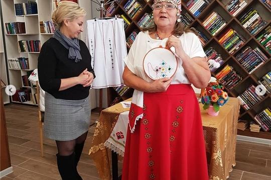 Мастер-класс ко Дню чувашской вышивки