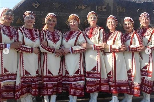«Фото в чувашской национальной одежде»