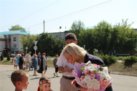 Цивильский район посетила министр культуры, по делам национальностей и архивного дела Светлана Каликова