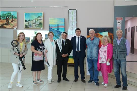 """Закрытие международной выставки """"Палестина глазами российских художников"""""""