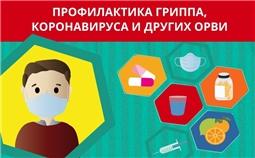 Профилактика гриппа, коронавируса и ОРВИ