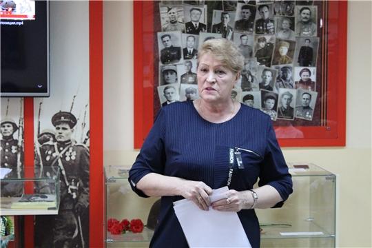 «Урок Победы» в чебоксарской школе № 54