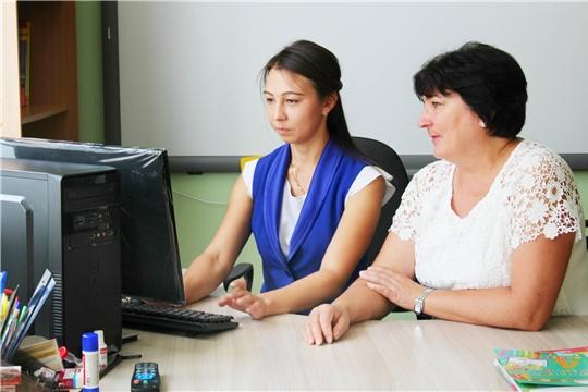Работа молодых специалистов в образовательных организациях города