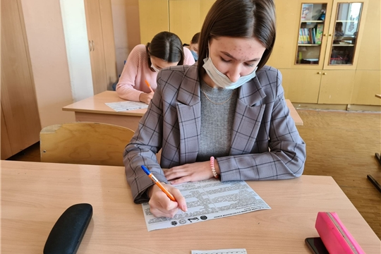Школьники столицы приняли участие в Международной акции «Тест по истории Великой Отечественной войны»