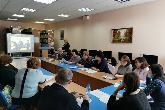 Педагоги столичной школы №40 презентовали опыт работы по повышению качества образования