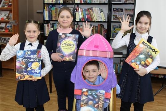 Столичные школьники приняли участие в мероприятиях, посвященных Дню космонавтики