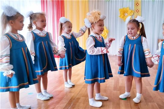 Ярмарка народных игр прошла в столичном детском саду