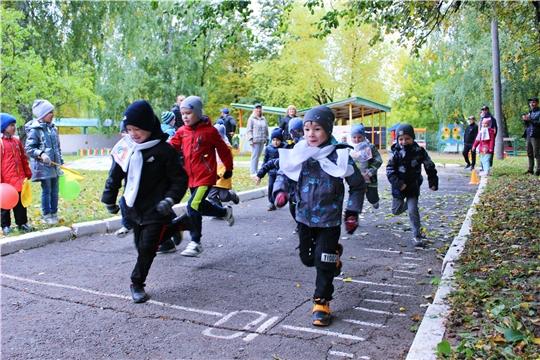 """В преддверии """"Кросса нации- 2021"""" в Чувашии в детских садах столицы проходят спортивные мероприятия"""