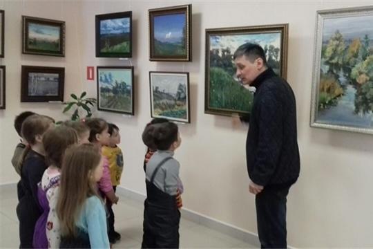Знакомство с творчеством чувашского художника