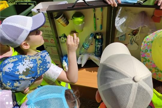 Дошкольники познакомились с общероссийским проектом «Экодвор»