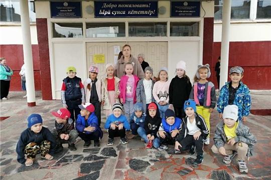 Экскурсия в школу воспитанников подготовительных групп