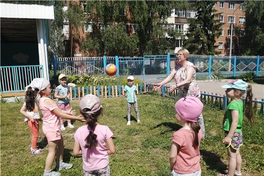 Подвижные игры и развлечение на свежем воздухе!