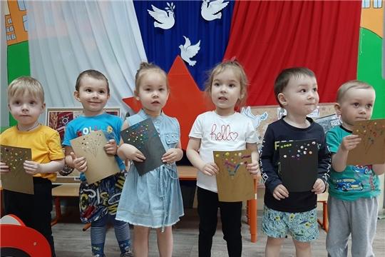 Воспитанники ДОУ запустили свой салют  Победы!