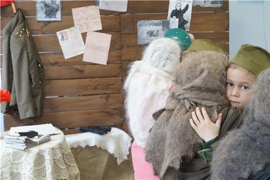 Среди дошкольных учреждений Чувашской Республики проходит фестиваль агитбригад «Память в сердцах молодых»