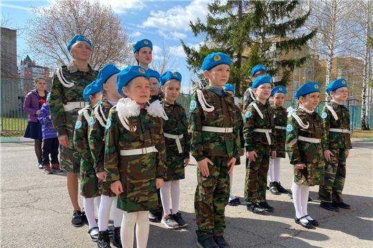 В преддверии празднования Дня Победы в дошкольных учреждениях города Чебоксары прошел традиционный «Парад дошколят».