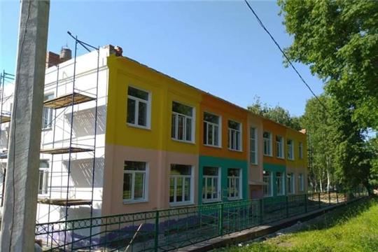 Капитальный ремонт в детском саду 01.06.2021-30.09.2021
