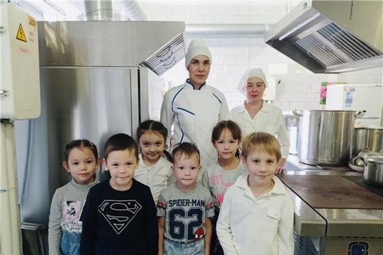 День повара в детском саду.