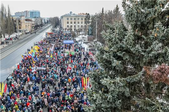 На митинг-концерт «Крымская весна» чебоксарцев приглашают на площадь Республики