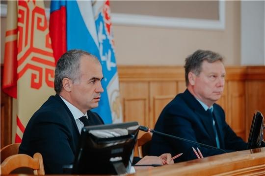 Алексей Ладыков: «Муниципальные предприятия должны быть примером при восстановлении благоустройства в Чебоксарах»