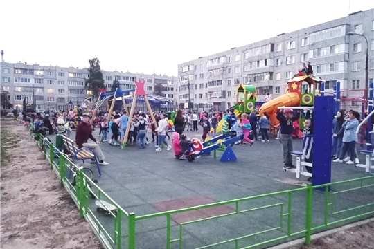 В Ленинском районе состоялась приемка самой большой комплекной площадки