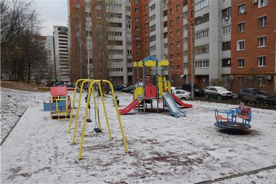 В Московском районе состоялась приемка дворовой территории