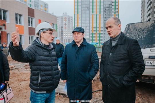 Алексей Ладыков проверил, как в городе идет строительство новых детсадов