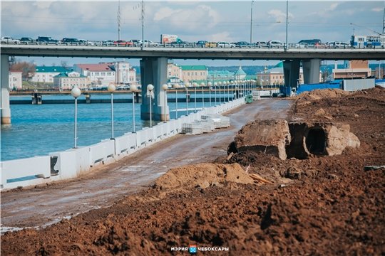Реконструкция Чебоксарского залива продолжается
